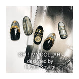 Daily Charme Clou Japanese Nail Art Sticker / Oversized Chains