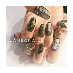 Daily Charme Clou Japanese Nail Art Sticker / Dollar Bill