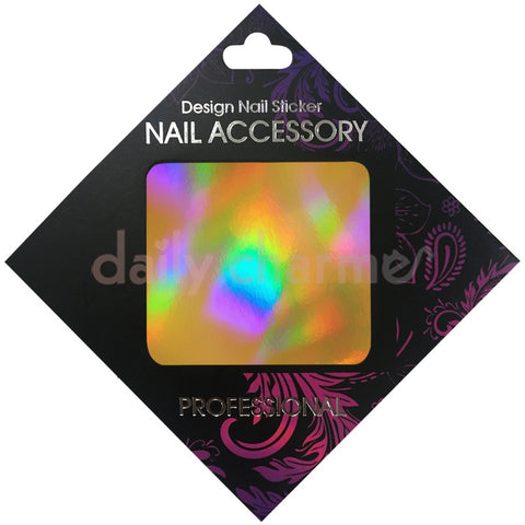 Daily Charme Nail Supply Clou Japanese Nail Art Foil / Holographic Gold