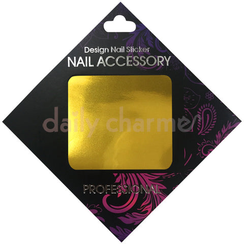 Daily Charme Nail Supply Clou Japanese Nail Art Foil / Gold