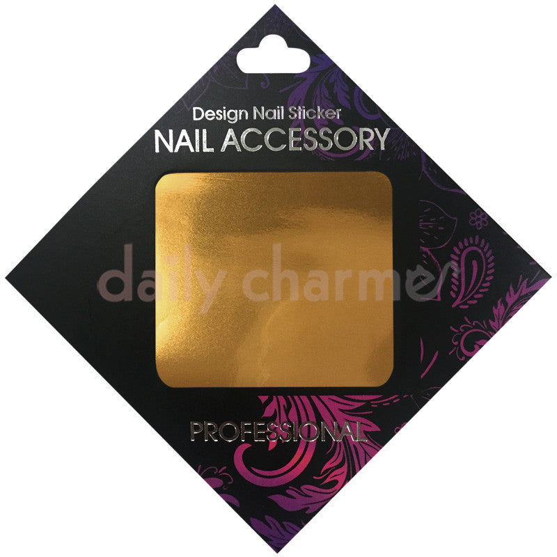 Daily Charme Nail Supply Clou Japanese Nail Art Foil / Bronze