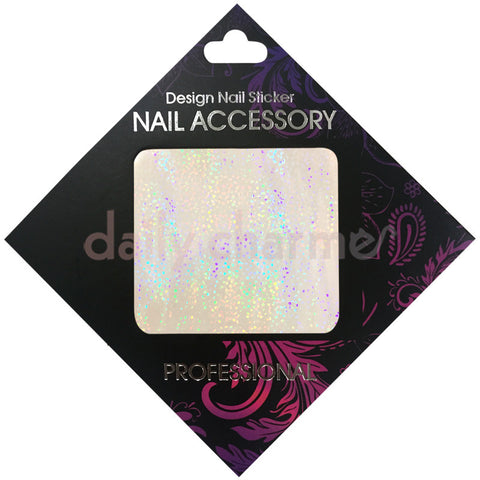 Daily Charme Nail Supply Clou Japanese Nail Art Foil / Transparent Holo Pattern