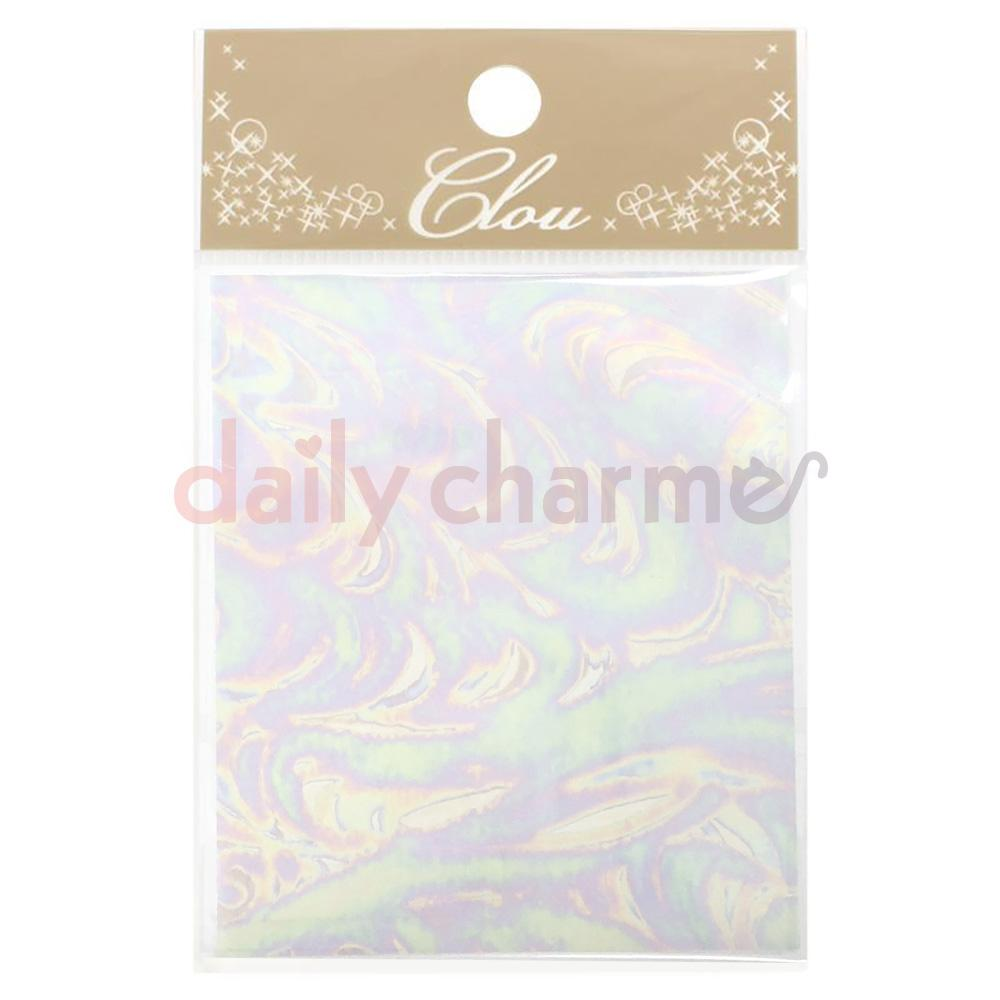 Clou Japanese Nail Art Foil / Transparent Aurora Wave