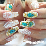 Daily Charme Clou Japanese Nail Art Sticker / My Gemstone