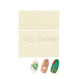 Clou Japanese Nail Art Sticker / Moroccan Pattern / Gold Foil
