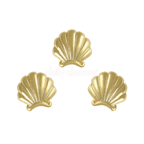 Clou Mermaid Shell Charm / Gold