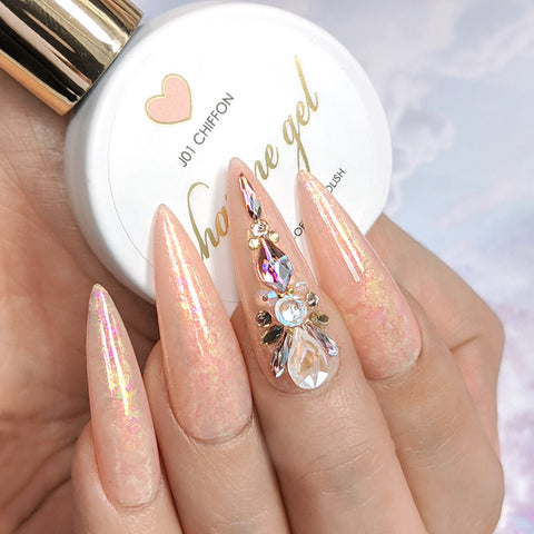 Iridescent Flakes / Aurora Fairy AB Rainbow Nail Art Decors