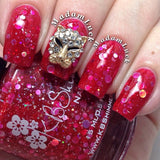 Nail Art Decoration - Leopard / Small Gold Charm Jewelry 3D