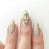 Nail Art Decoration - Snake / Gold