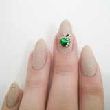 Nail Art Decoration - Green Apple