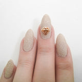 Nail Art Decoration - Diamond / Small / Gold