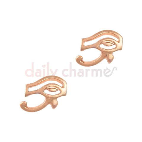 Egyptian Nail Art Charm Eye of Horus / Rose Gold