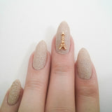 Nail Art Decoration - Eiffel Tower / Gold