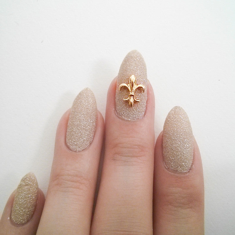 Nail Art Decoration - Fleur-de-lys