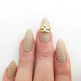Nail Art Decoration - Masquerade / Gold