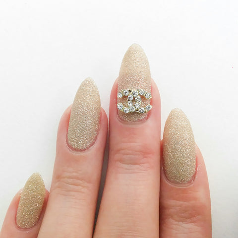 Nail Art Decoration - Coco Charme / Gold