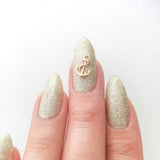 Nail Art Decoration - Anchor / Rose Gold