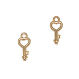 Heart Key / Rose Gold