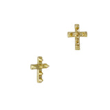 Studded Cross / Gold