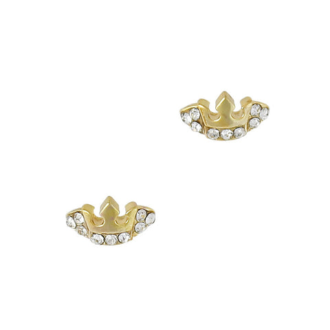 Alexander's Crown / Gold Nail Charm 3D Art Jewelry Supply