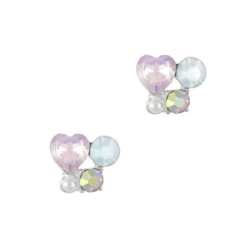Nail Charm Jewelry - Pastel Heart Cluster