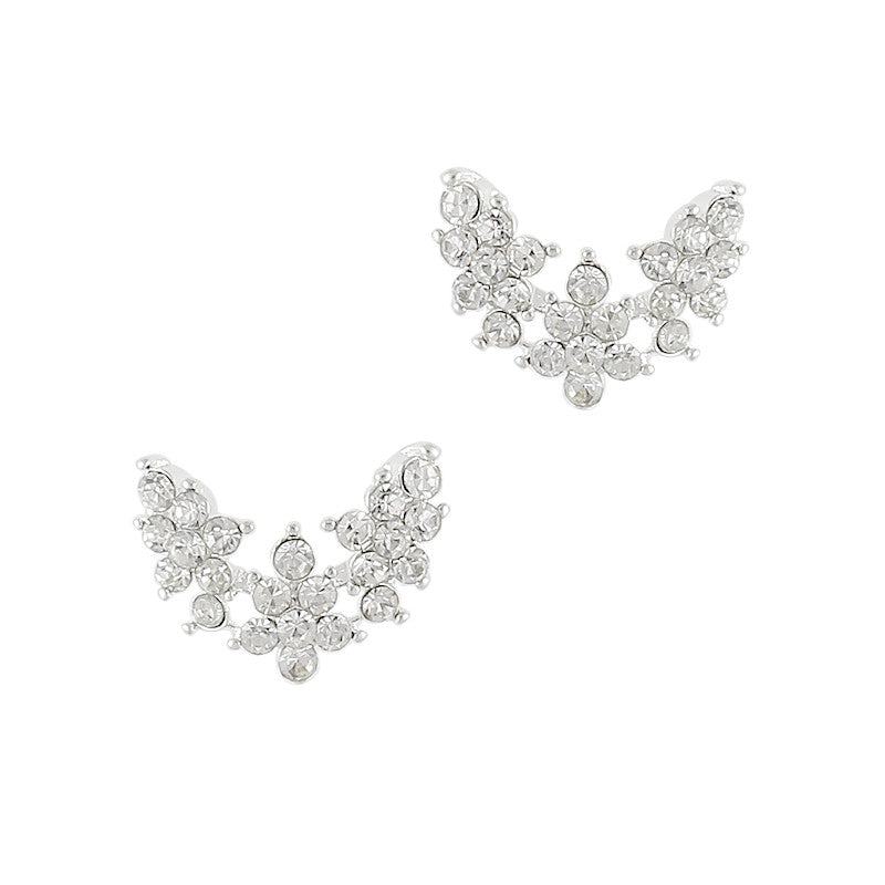 Nail Charm Jewelry - Ornate Crystal Wings
