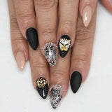 Nail Art Decoration - Leopard / Small