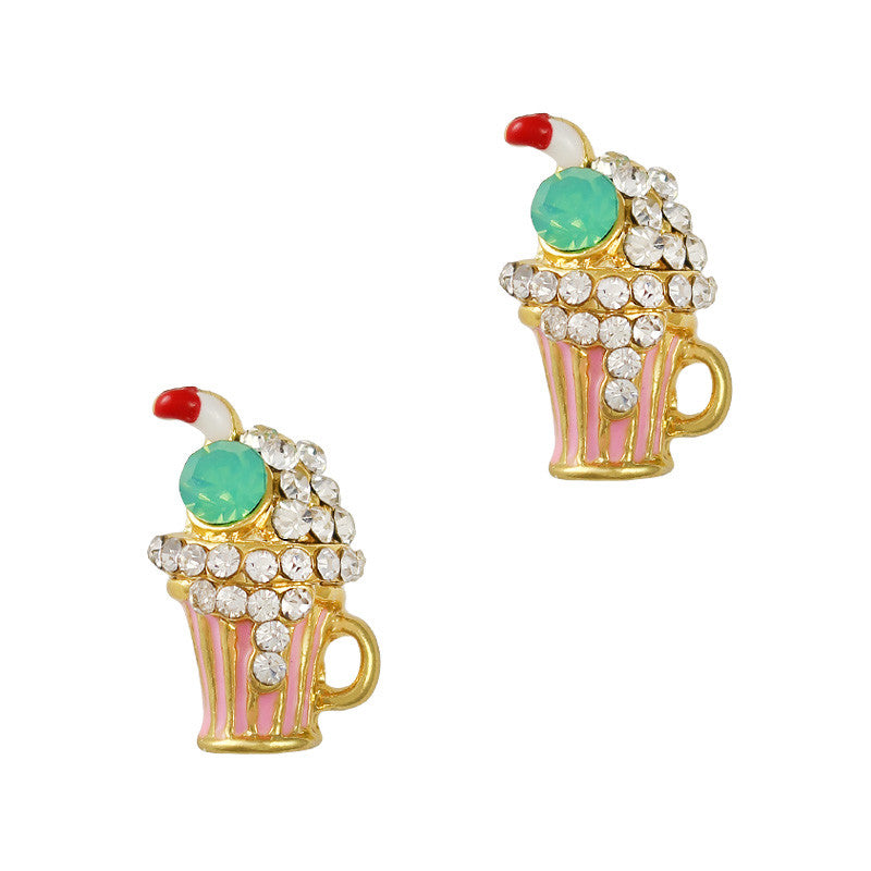 3D Nail Art Charm Jewelry Milk Shake
