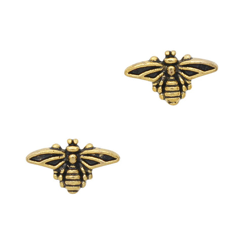 Vintage Bee / Gold Nail Art Charm Decor Jewelry