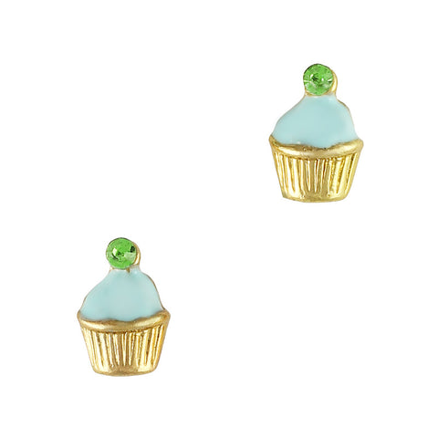 Yummy Cupcake Mint Nail Art