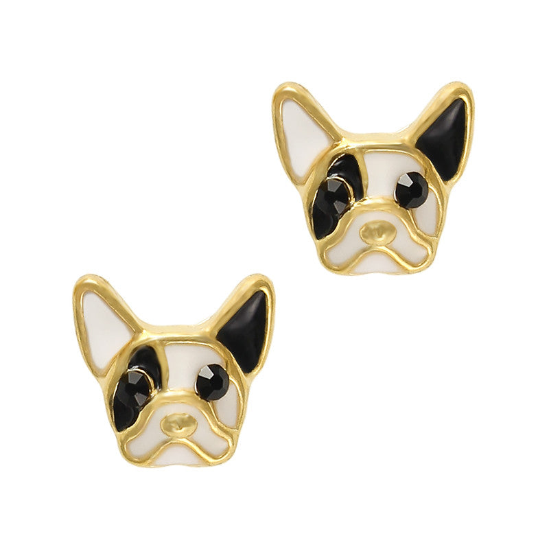 French Bulldog Dog Lover Cute Nail Charm Jewelry