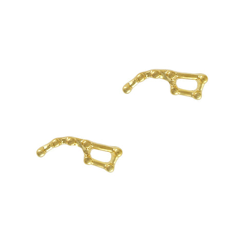 Constellation Big Dipper Gold Stars Charm Nail Jewelry