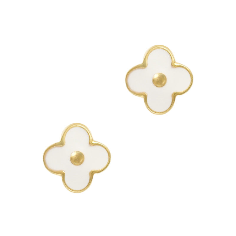 Marc Daisy White Flower Cute Nail Charm