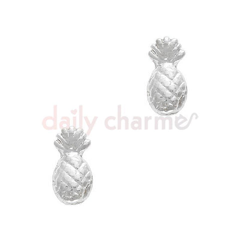 Nail Art Charm Pineapple / Silver