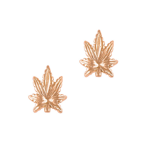 Daily Charme 3D Nail Art Charm Jewelry Leaf / Rose Gold