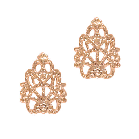 Daily Charme Nail Supply Nail Charms 3D Queen's Lace / Rose Gold