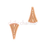 Daily Charme Nail Supply Nail Charms Art Deco Fan / Rose Gold