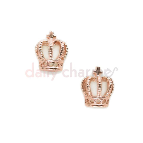 Daily Charme 3D Nail Decoration Charms Nail Supply Henry's Crown / Rose Gold