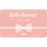 Daily Charme Gift Card $25 Value - Nail Art Supply Charms Jewelry
