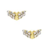 Daily Charm Halloween Nail Charms Nail Jewelry Decoration Bat / Gold