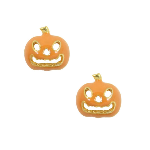 Daily Charm Halloween Nail Charms Nail Jewelry Decoration Jack O' Lantern / Gold
