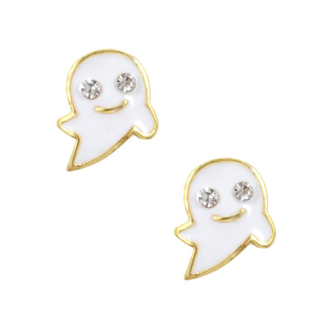 Daily Charm Halloween Nail Charms Nail Jewelry Decoration Ghost / Gold