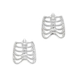 Cool Rib Cage Halloween Nail Art Charm Jewelry 3D