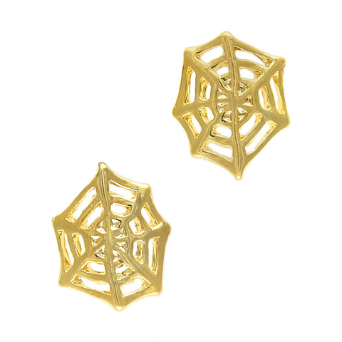 Spider Web Halloween Nail Art Charm Jewelry 3D