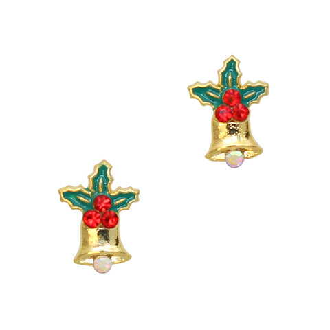 Christmas Bells Nail Art Charm Decorations