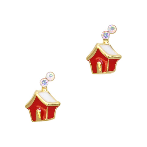 Santa's House Holiday Nail Art Charms 3D Decor