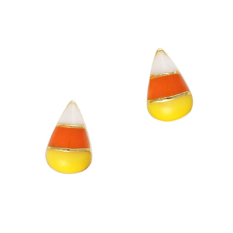 Halloween Nail Art Candy Corn Charms Jewelry Design
