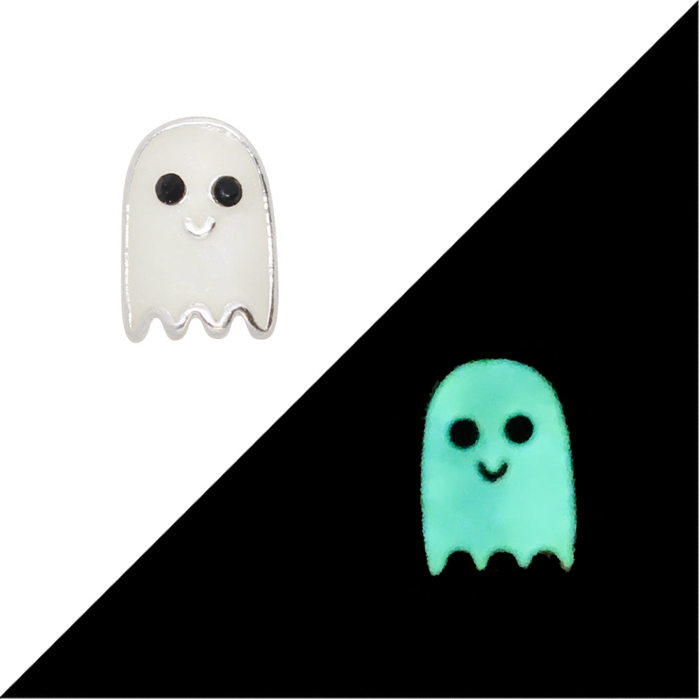 Daily Charm Halloween Nail Charms Nail Jewelry Decoration Boo! / Glows in Dark