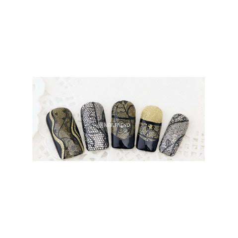 Daily Charme Nail Art Decals Sticker Decal - Mixed Delicate Lace