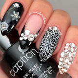 Daily Charme Nail Decal Sticker Decal - Snowflakes
